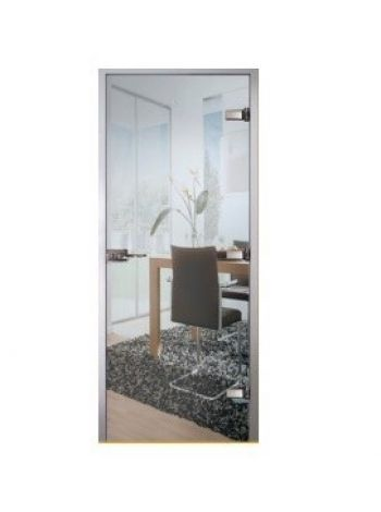 Дверь межкомнатная Classic зеркальная прозрачная