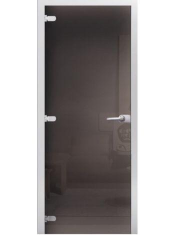 Дверь межкомнатная Classic Серая тонированная