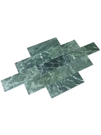 Плитка змеевик 300х100х10мм полированная(отгружается упаковками 1упак=1м2)