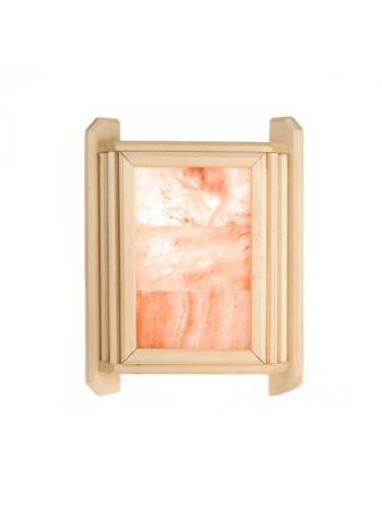 Абажур из гималайской соли угловой липа (3 плитки)