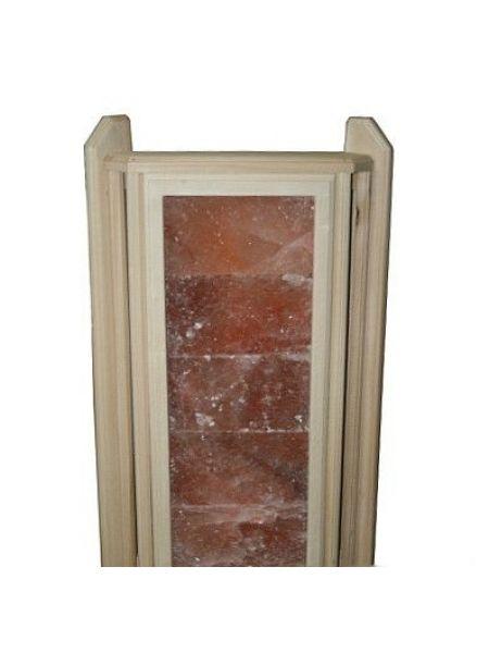 Абажур из гималайской соли большой угловой липа (5 плиток)