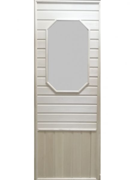 Дверь для бани Doorwood со стеклом 185х75 без петель DW00008